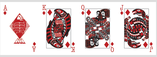 Northwest Native Playing Cards