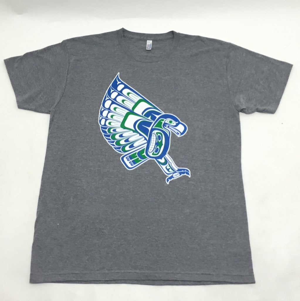 Native American Style Seahawk Duwamish inspired  T Shirt
