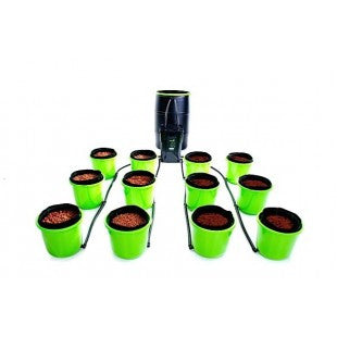 Oxygen Pot Systems 12 Bucket XL Ebb and Flow Hydroponic System