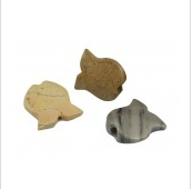 1.5'' Fish Onyx Smoke Stone-Assorted Colors