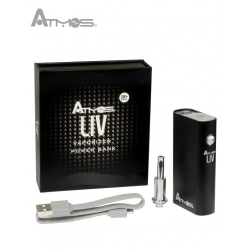Atmos Liv Vaporizer and Power Bank Kit