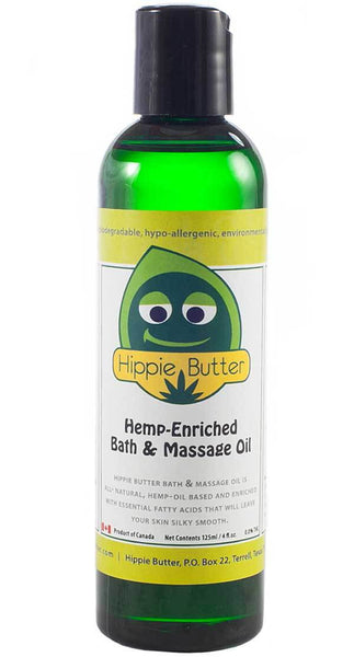 Luxurious Hemp Seed Massage Oil