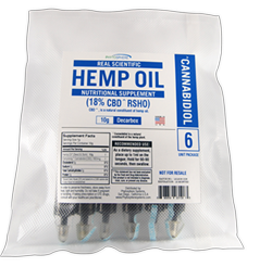 RSHO Blue Label CBD Hemp Oil