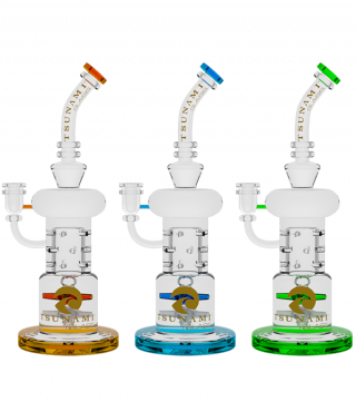 TSUNAMI DOUBLE PROPELLER DRUM PERC RECYCLER (12″)