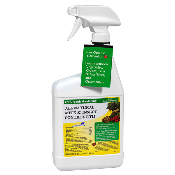 Monterey All-Natural Mite and Insect Control, qt