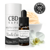 NEW! Vanilla Cream CBD E Liquid - Black Label