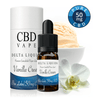 NEW! Vanilla Cream CBD E Liquid - Gold Label