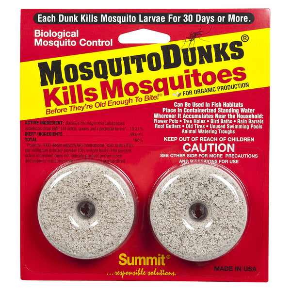 Mosquito Dunk, 2 Packs