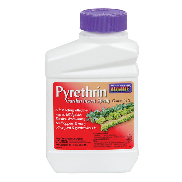 Pyrethrin Garden Insect Spray Concentrate, 16 oz