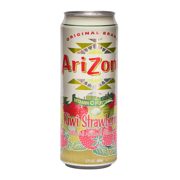 Arizona Strawberry Kiwi Stash Can 23 oz