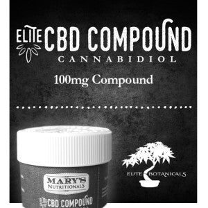 Elite CBD Compound – Mary's Nutritionals