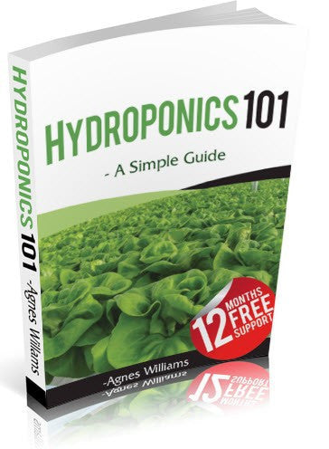 Hydroponics 101 Training E-Book (55 Page) & 12 Months Tech Support