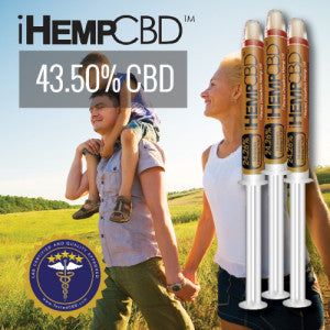 iHemp CBD Oil Gold Label
