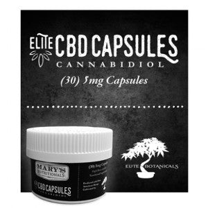 Elite CBD Capsules – Mary's Nutritionals