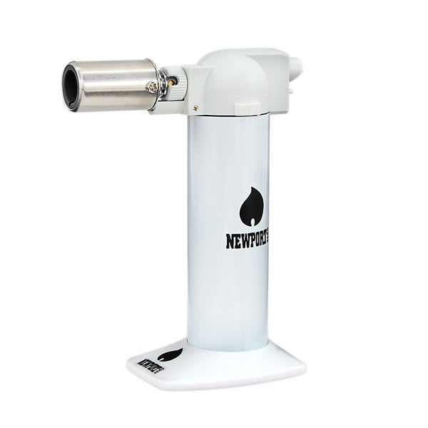 Newport Cigar Torch White - No Butane - 6
