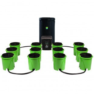 Oxygen Pot Systems Digital 12 Bucket XL Ebb and Flow Hydroponic System