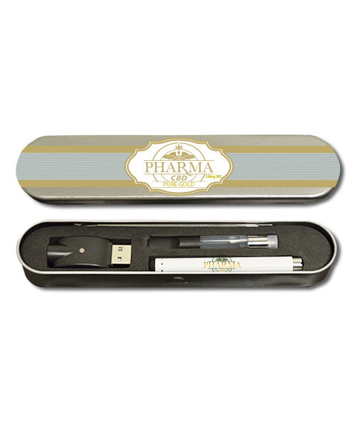 Rechargeable E-Cig Kit – Pure Gold