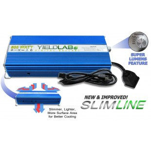 Yield Lab 600w SLIM LINE Digital Dimming Ballast