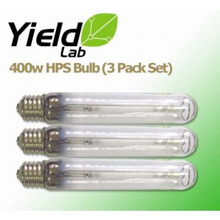 Yield Lab HPS 400w Lamp HID Bulb (3 Pack)