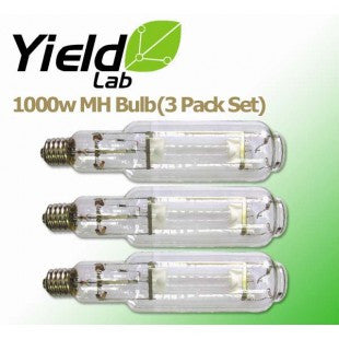 Yield Lab MH 1000w Lamp HID Bulb (3 Pack)