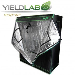 Yield Lab Two Door 48x24x60 Reflective Grow Tent