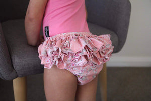 Chelsea floral Ruffle bum bloomers