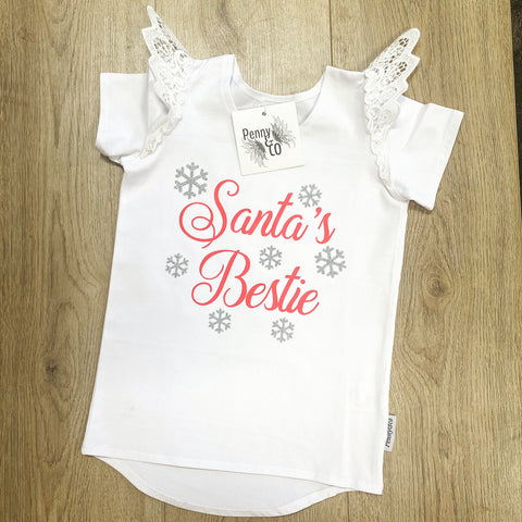 Personalised Christmas tee