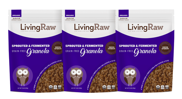NEW! Cacao Crunch Grain Free Granola - 3 pack or Full Case w/10% OFF