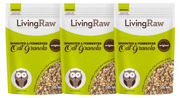 NEW! Original Oat Granola - 3 pack or Full Case w/10% OFF