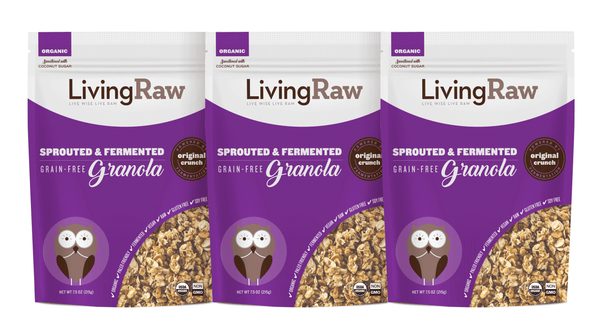 NEW! Original Crunch Grain Free Granola - 3 pack or Full Case w/10% OFF