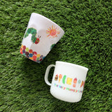 The Very Hungry Caterpillar Handle Cup (White)
