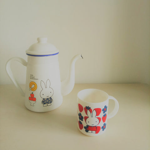 Miffy II Strawberry Mug (White)