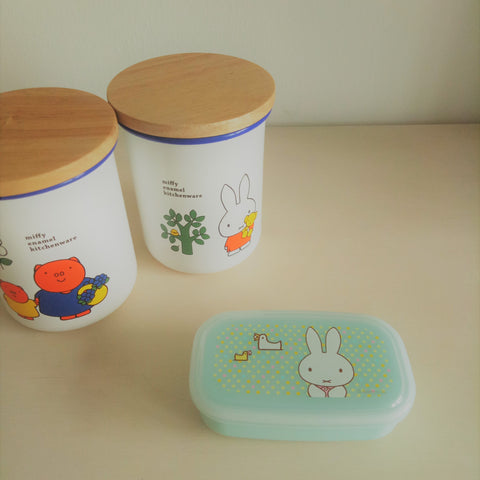 Miffy III Lunchbox Container (Mint)