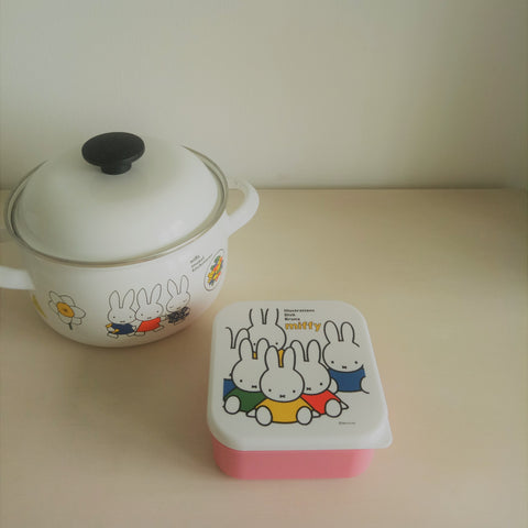 Miffy II Sandwich Container (Pink)