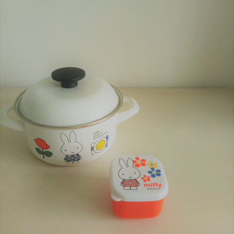 Miffy II Container (Orange Dress)