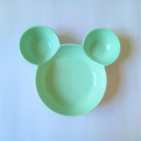 Ceramic  Mickey Inspired Mint Bowl