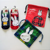 Miffy III Pouch (Check Red)