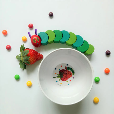 The Very Hungry Caterpillar Bowl II (Green)