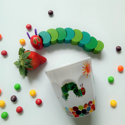 The Very Hungry Caterpillar Cup II (White)