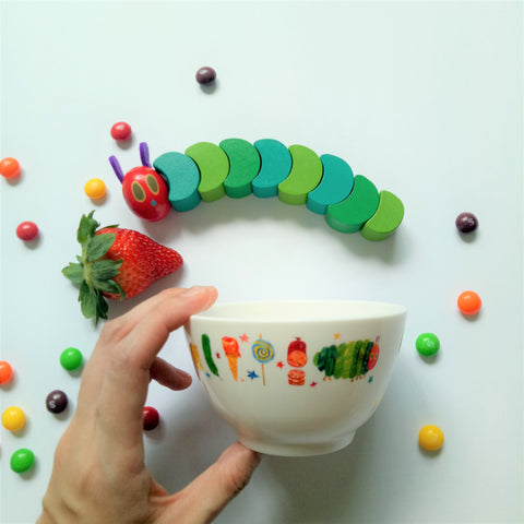 The Very Hungry Caterpillar Bowl II (White)