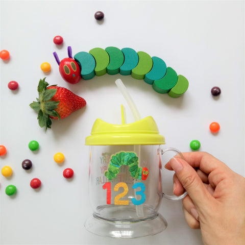 The Very Hungry Caterpillar Water Bottle II (123)