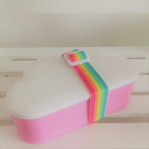 Cloud Lunchbox 3 Size Set (Pink)