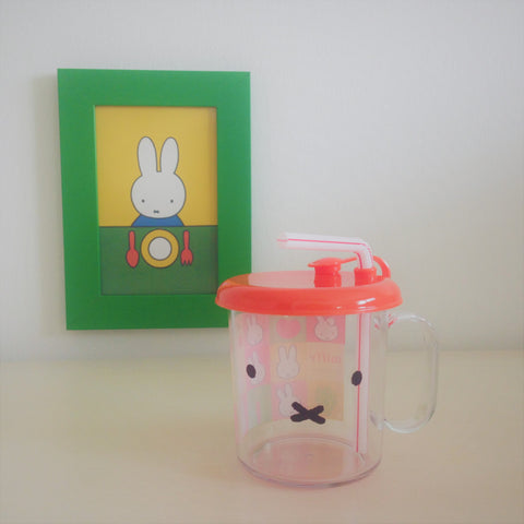 Miffy III Sippy Mug with Straw (Transparent)
