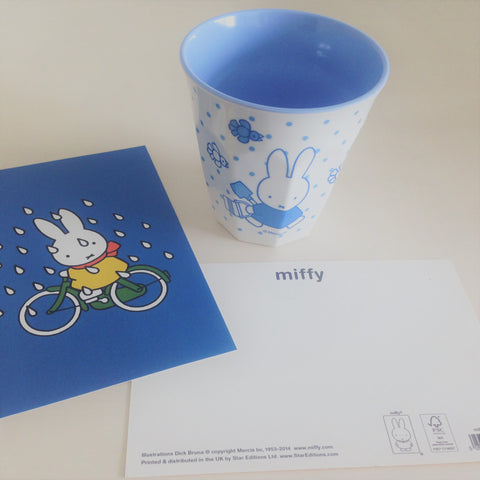 Miffy Cup Gardening (Blue)