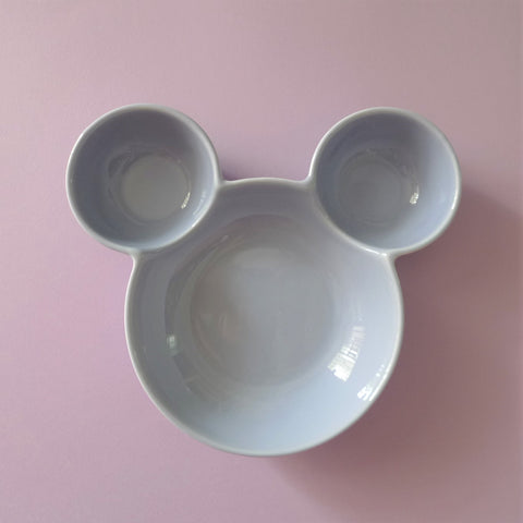 Ceramic  Mickey Inspired Purple Bowl