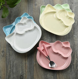 Ceramic Hello Kitty Inspired Mint Plate
