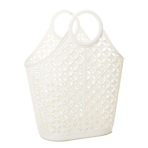 Sunjellies Atomic Tote - Cream