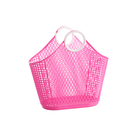Sunjellies Fiesta Shopper - Small Hot Pink