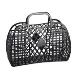 Sunjellies Retro Basket - Large Black