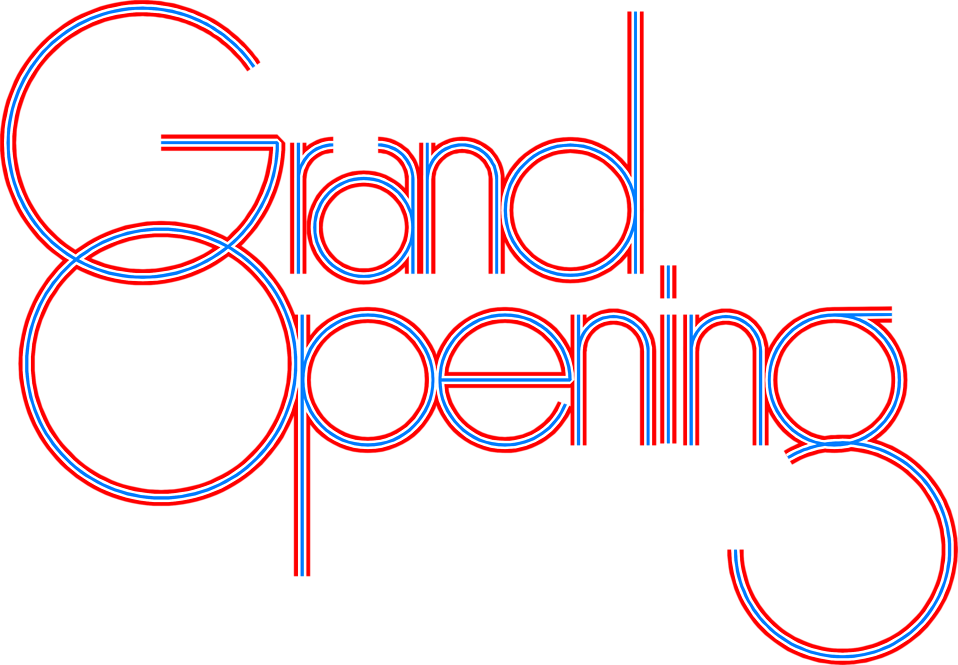 Grand (Re)-Opening! - Saturday May 12th - 1-3 PM